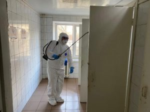Дезинфекция от ковид 19 Украина